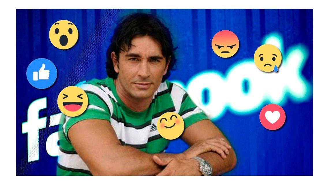Las cargadas a Sebastián Estevanez por los nuevos gestos de Facebook