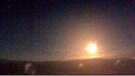 Así cayó un meteorito en España