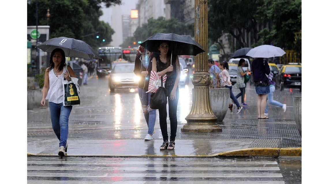 Se esperan tormentas intensas en el país