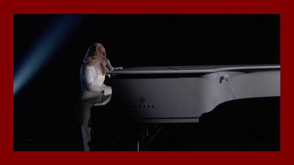 El impactante show de Lady Gaga en homenaje a las victimas de abuso sexual