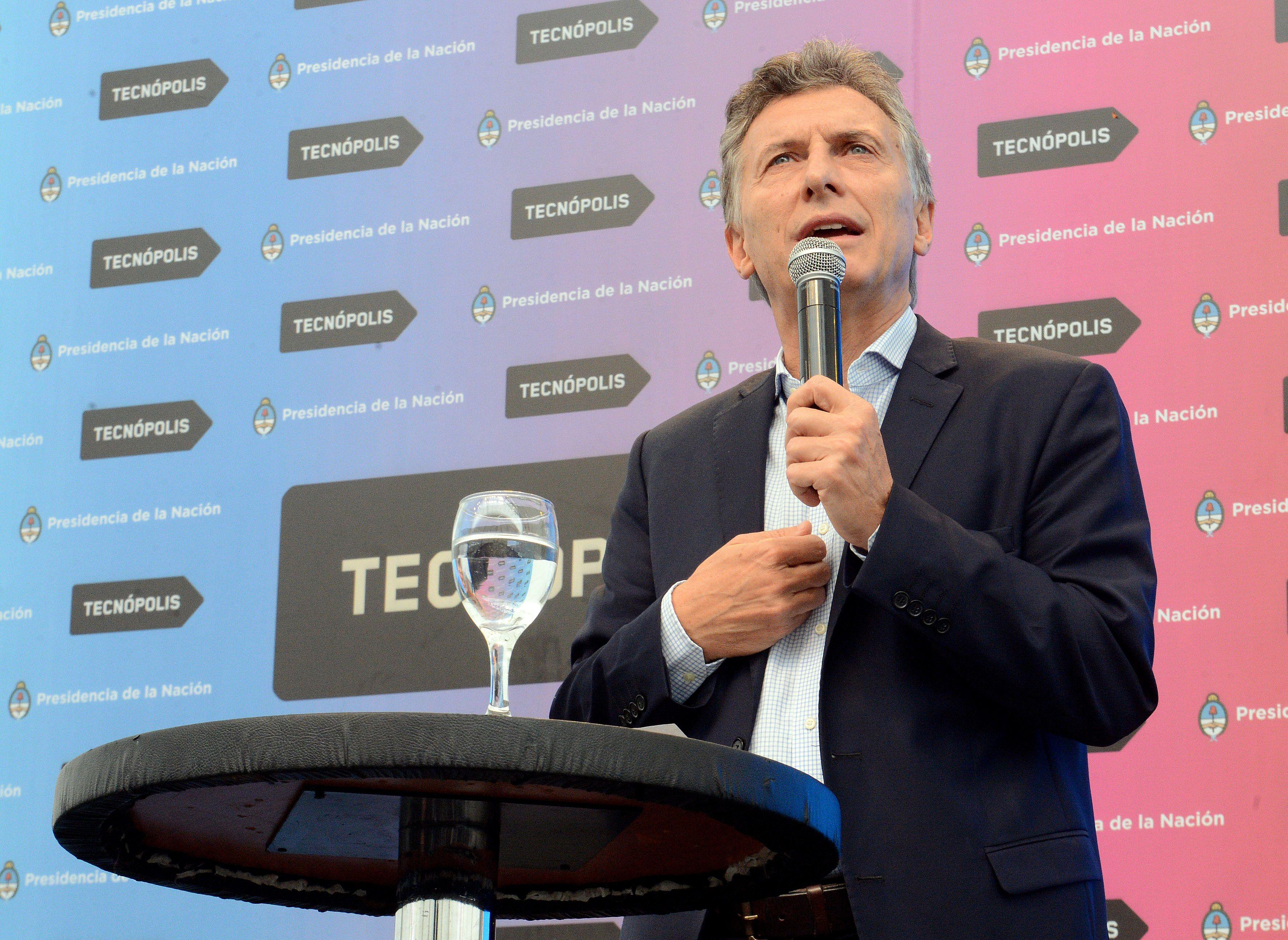 Macri sostuvo que busca darle impulso a la ciencia y el desarrollo tecnológico