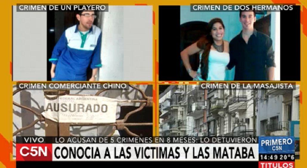 Cayó el nuevo Robledo Puch: lo acusan de cinco asesinatos en ocho meses
