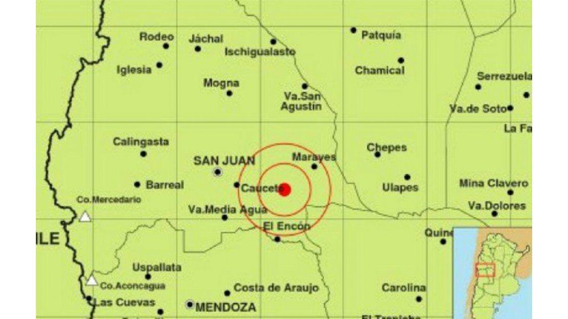 Fuerte sismo sacudió a San Juan: se sintió en Córdoba y Mendoza