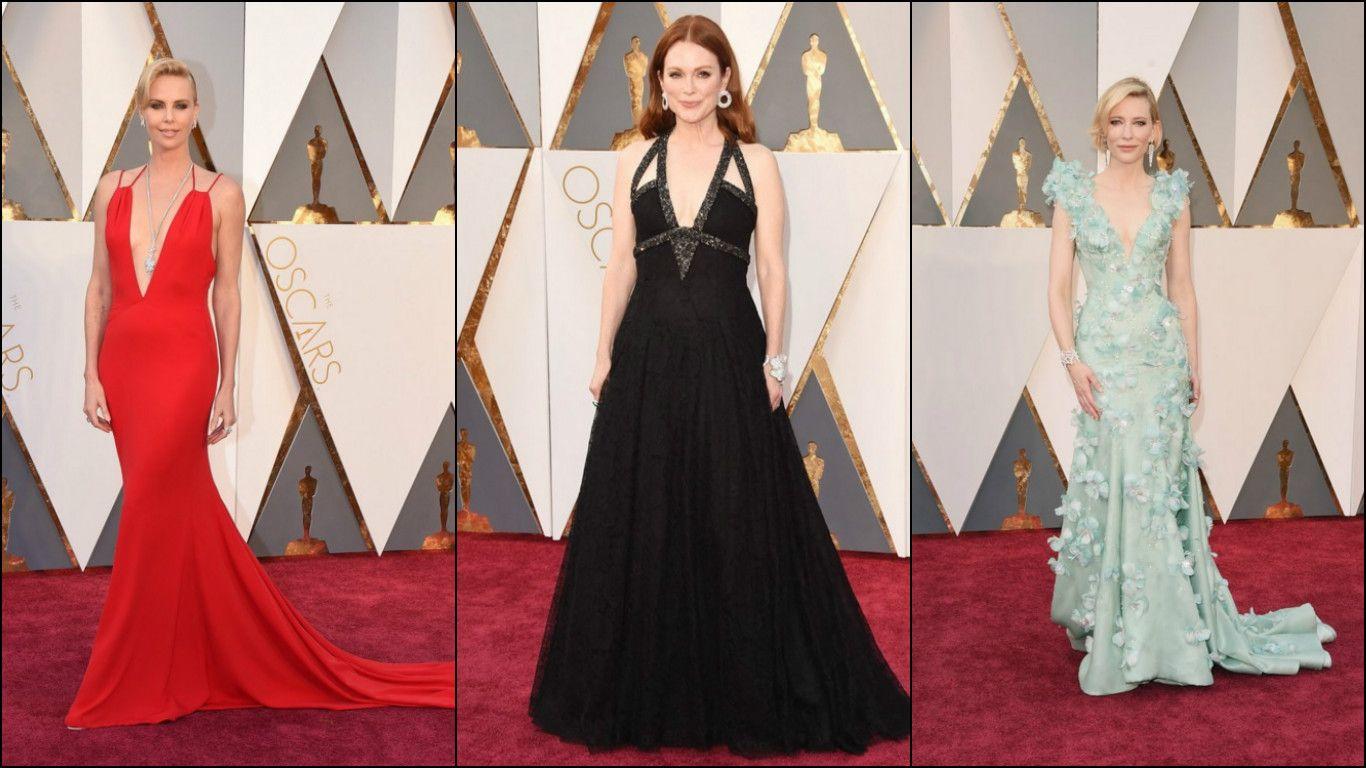Así sí: Mirá a las mejores vestidas de los Oscar