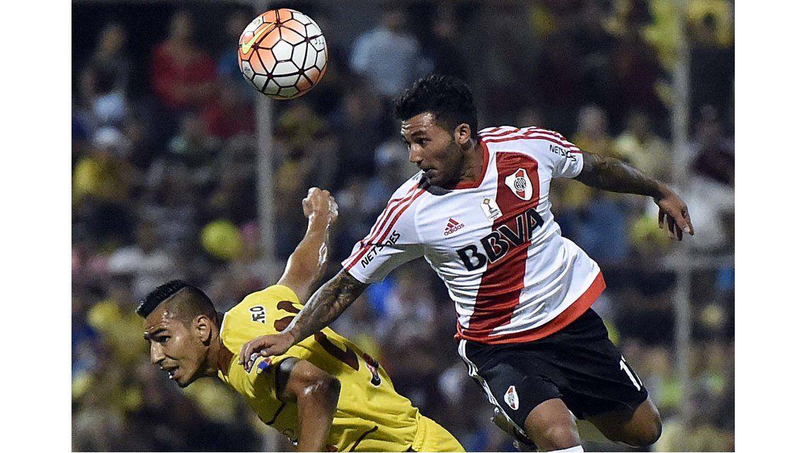 River goleó a Trujillanos en el debut por la Copa Libertadores