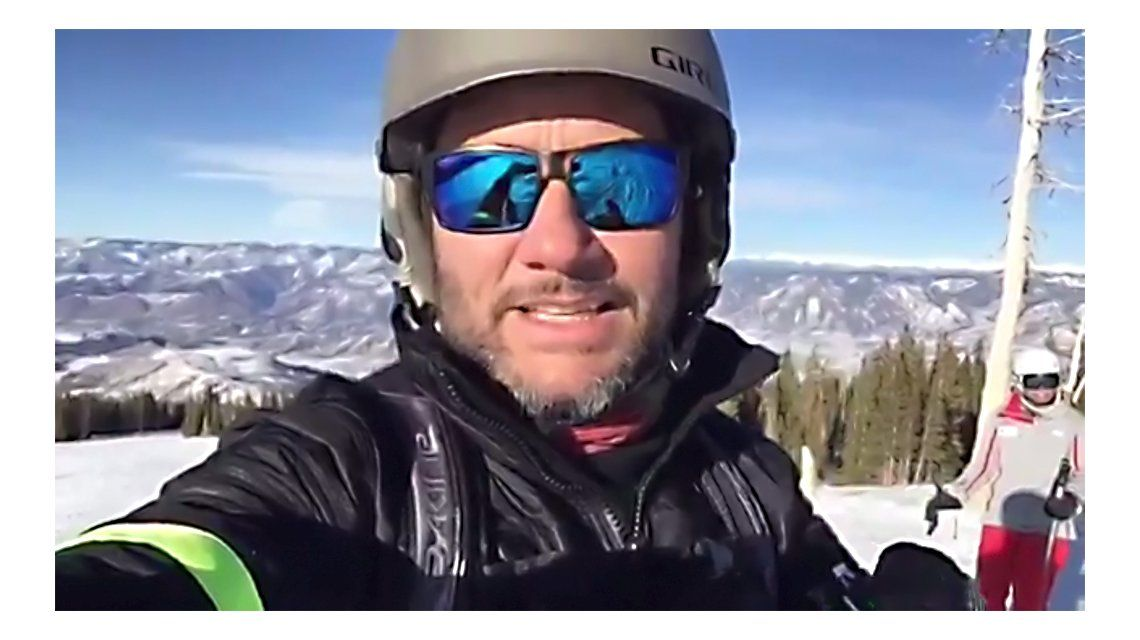 Videos: las vacaciones de Diego Torres haciendo snowboard