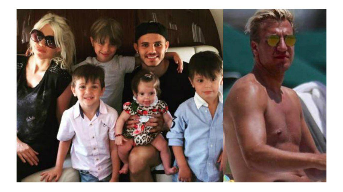 Wanda Nara le respondió a Maxi López: ¿Qué derechos tiene un padre ausente?