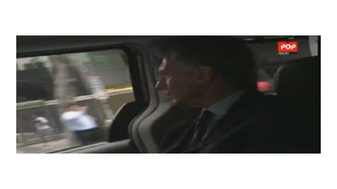 VIDEO: Así llegó Macri al Congreso para la apertura de sesiones