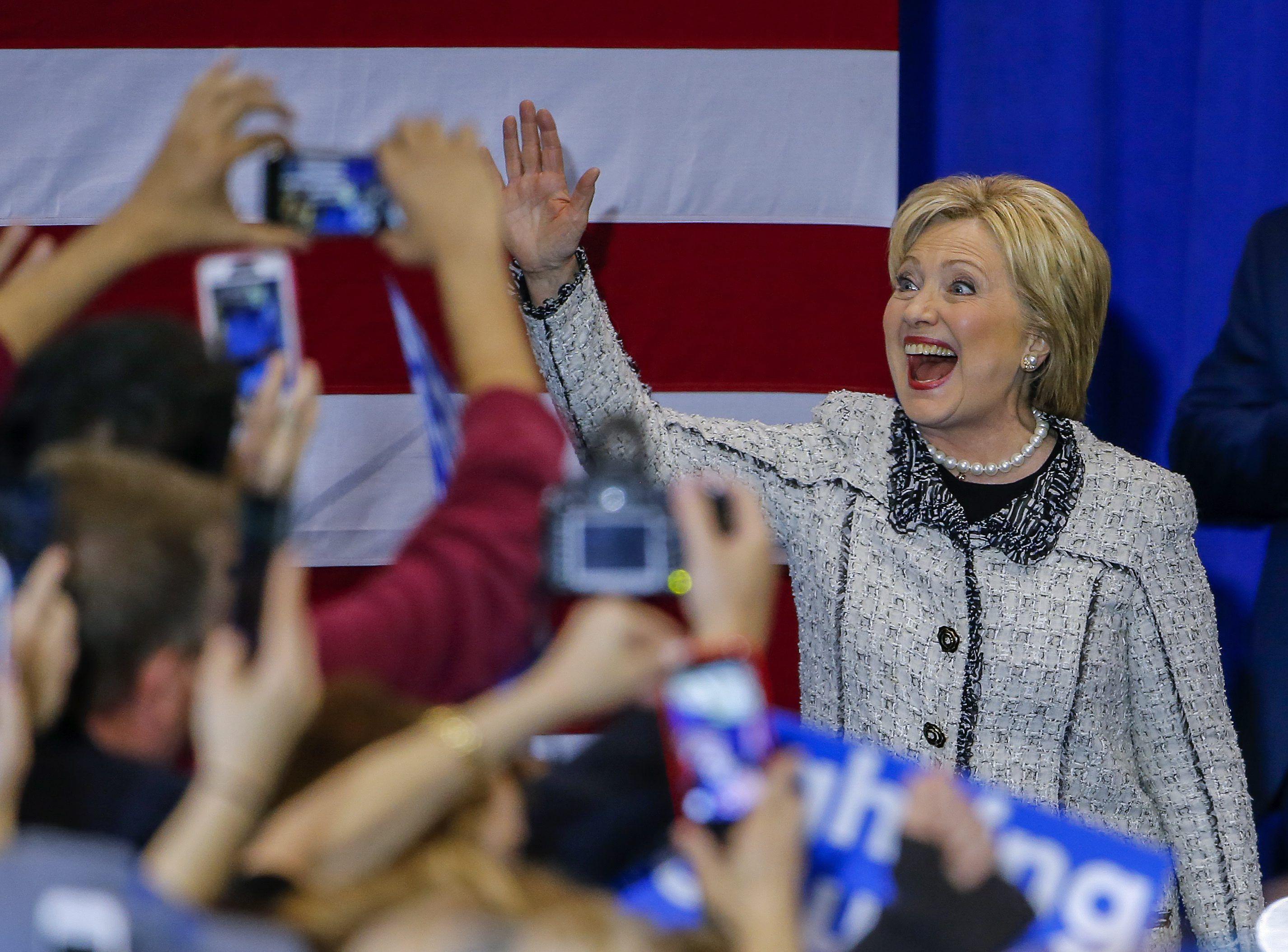 Hillary Clinton se impuso en las primarias en Carolina del Sur