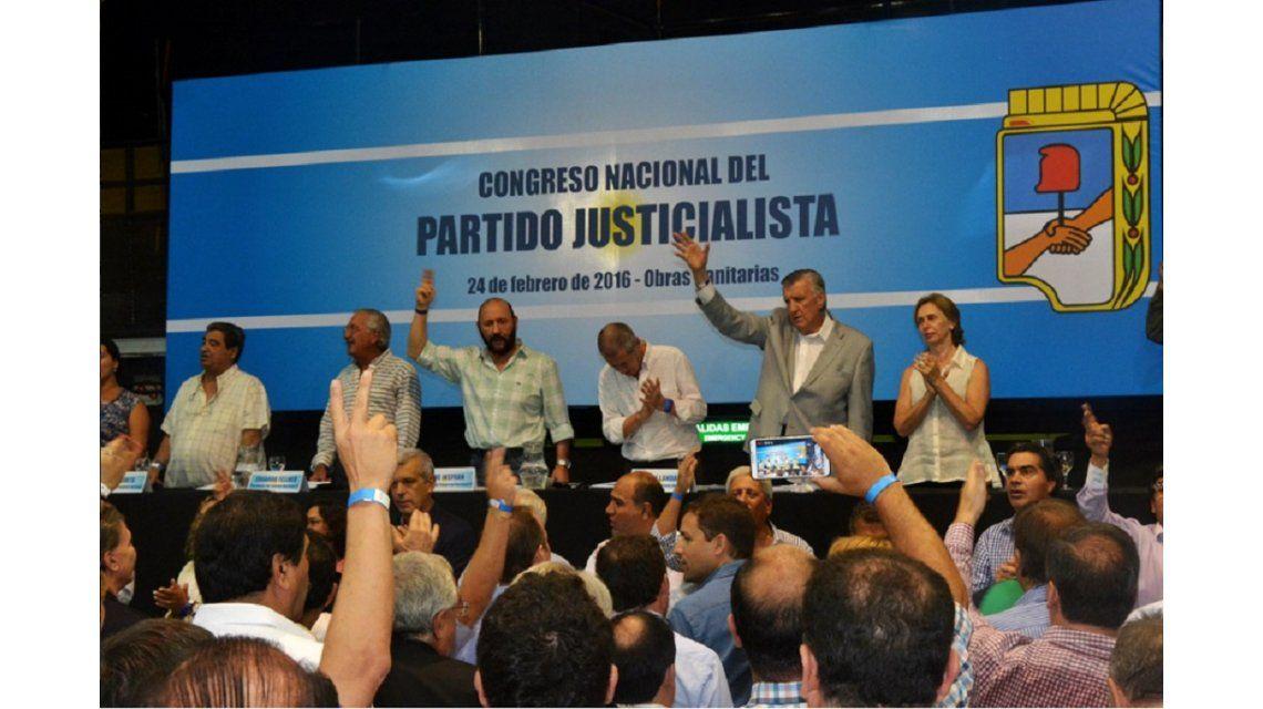 El Congreso del PJ ratificó las internas para el 8 de mayo y se conformó la Junta Electoral