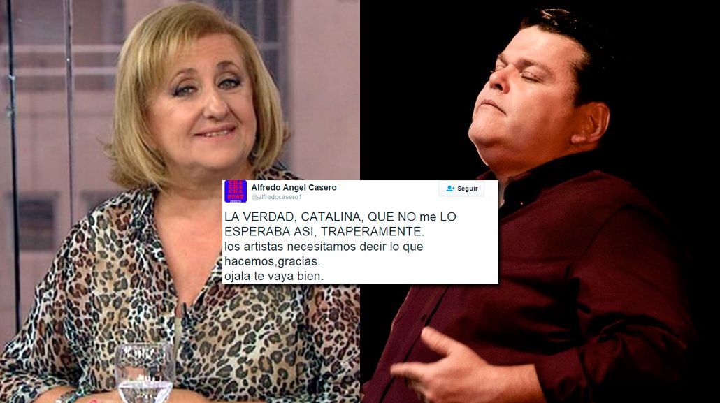 AUDIO: feroz pelea entre Alfredo Casero y Catalina Dlugi