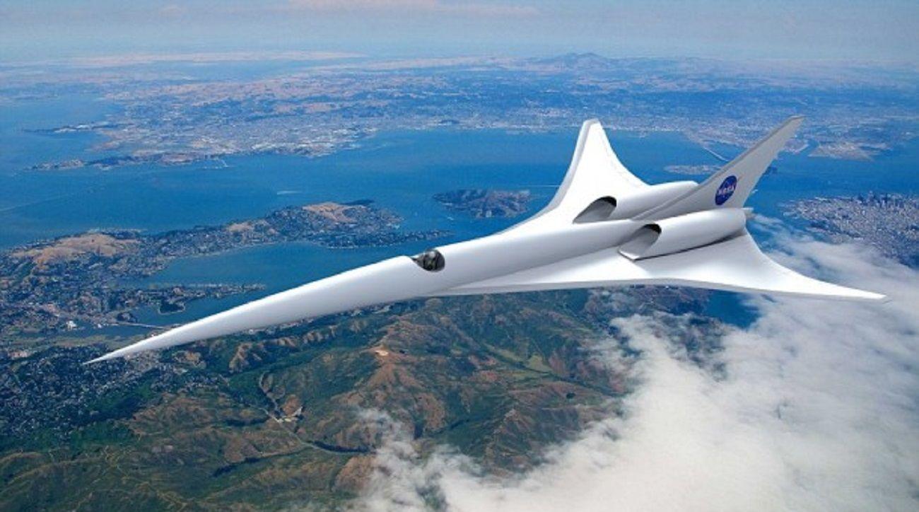 La NASA fabricará un avión de pasajeros que viajaría a la velocidad del sonido