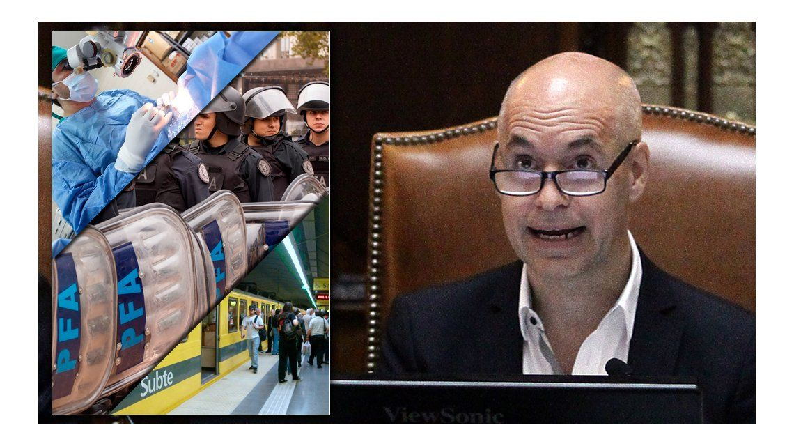 ¿Qué propone Larreta en materia de tránsito, seguridad y salud?