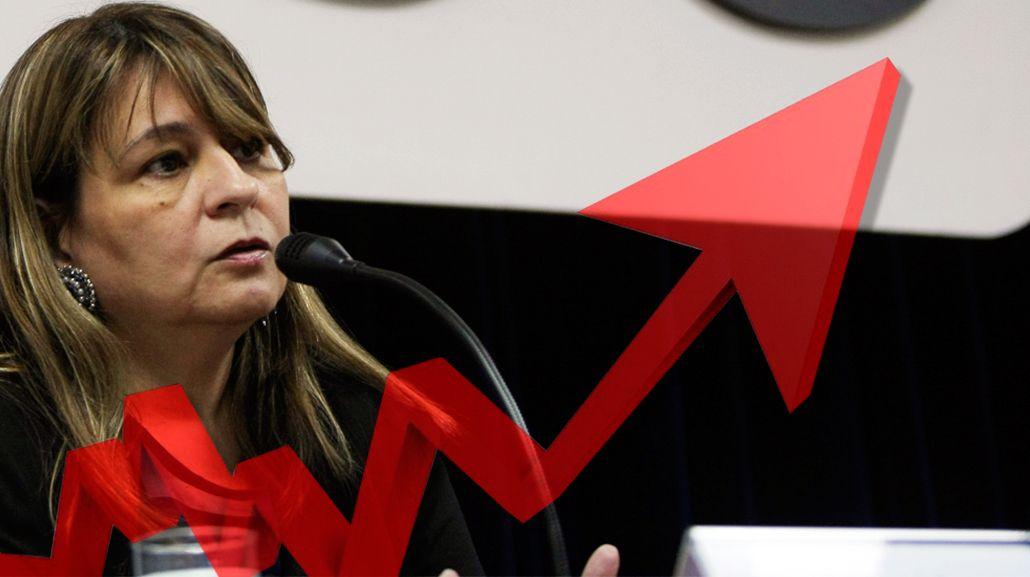 Directora desplazada del Indec prevé tres puntos más de inflación por el tarifazo