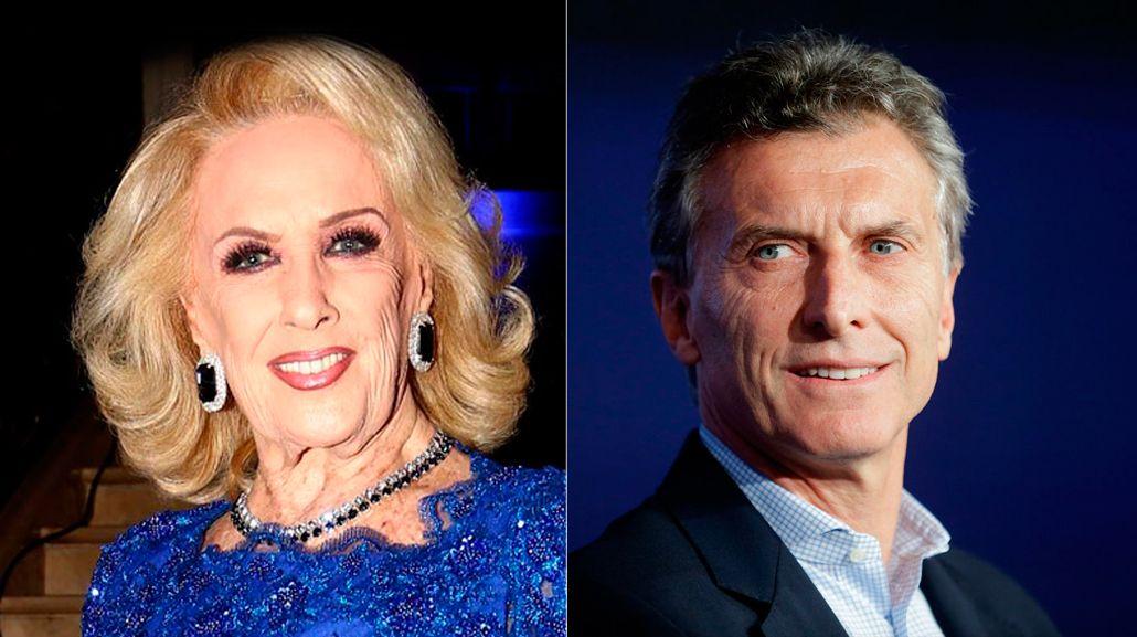 Mirtha Legrand: Apoyé a Mauricio Macri pero veo muchas cosas que no están bien