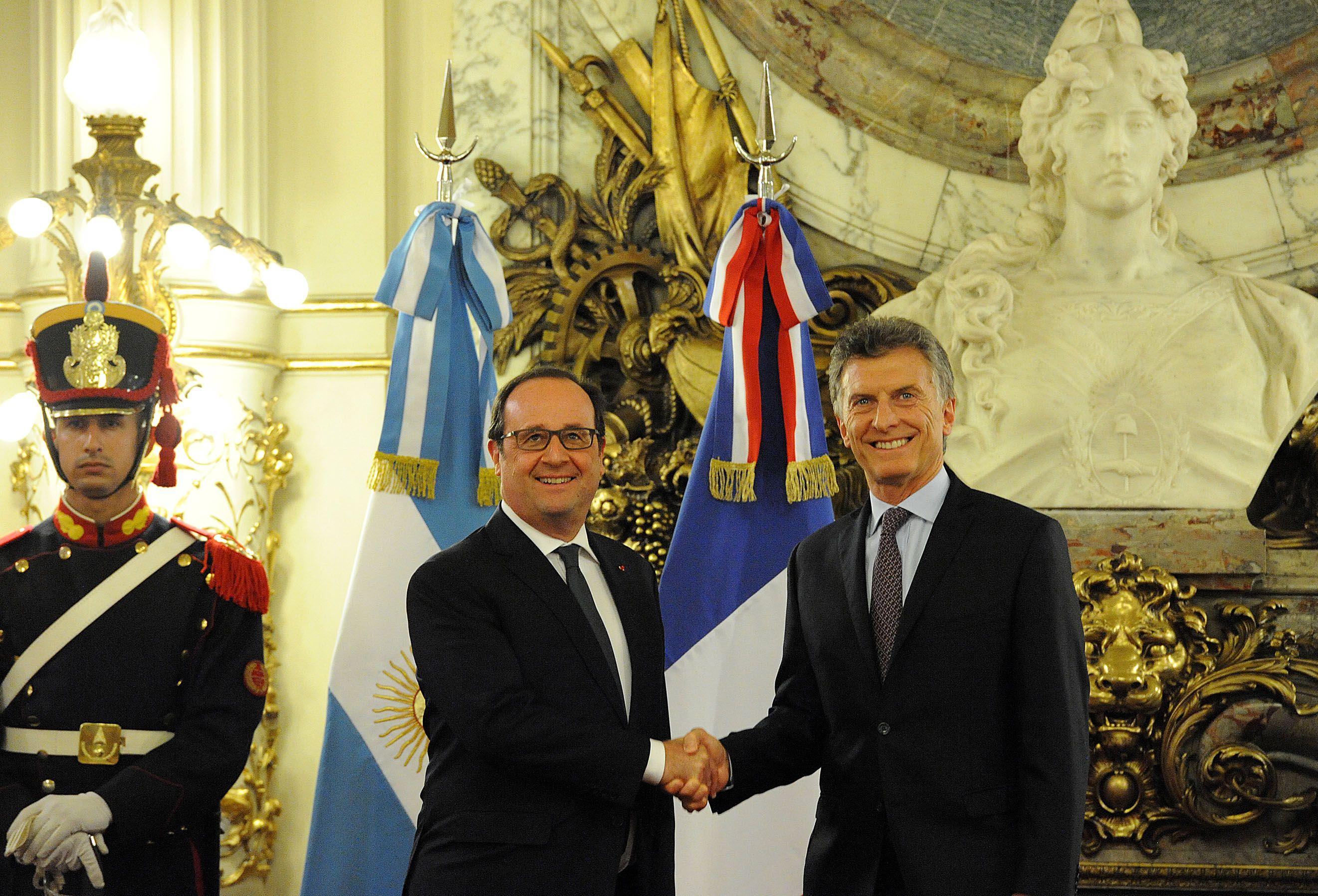 Macri abogó por profundizar la relación política y comercial con Francia