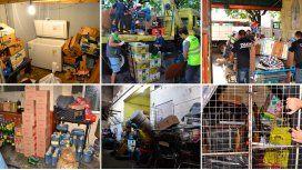 La Fiscalía porteña desbarató 18 depósitos de mercadería ilegal