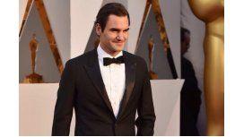 Jugador de toda la cancha: Roger Federer está en los Oscar