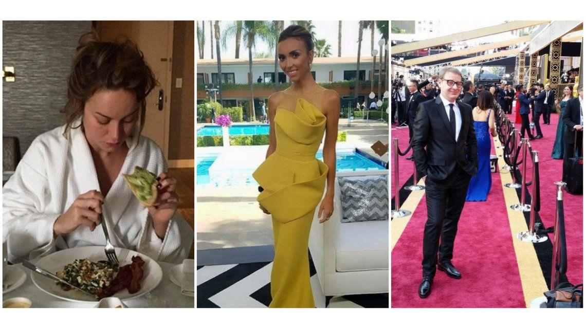 Así se prepararon las estrellas de Hollywood para los Oscar 2016