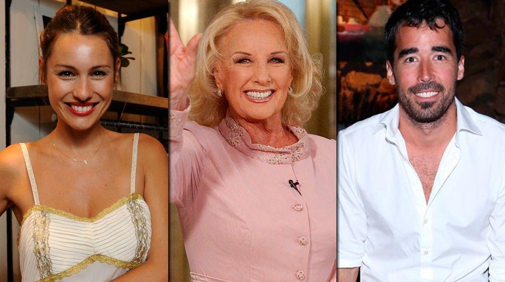 Mirtha Legrand confirmó que Pampita y Nacho Viale están en pareja