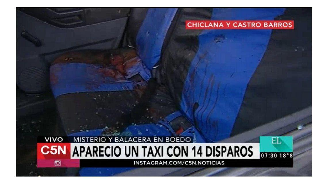 Misterio en Boedo: atacaron a un taxi a balazos y mataron a dos personas
