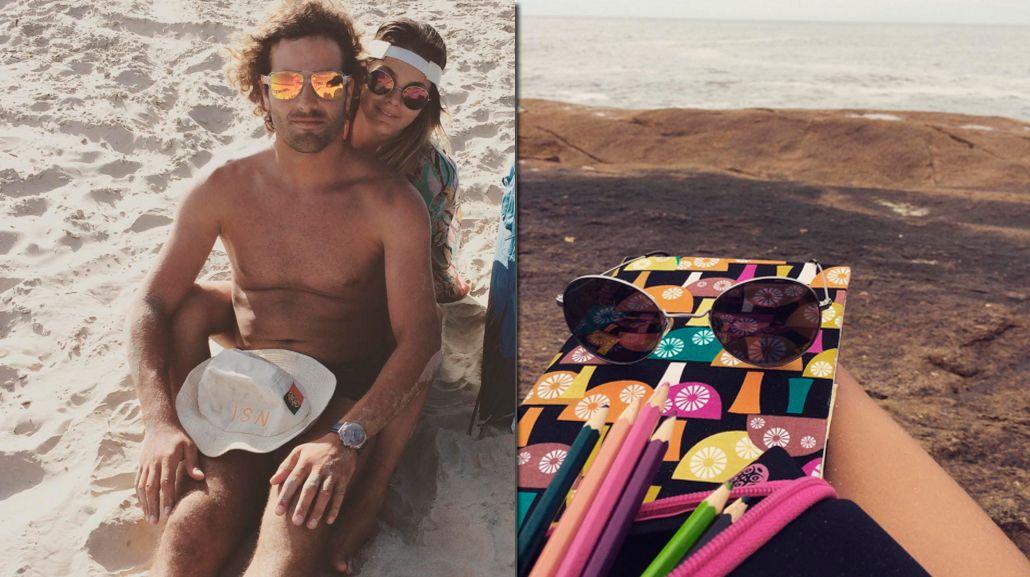 Las vacaciones románticas de Natalie Pérez y su novio en Brasil