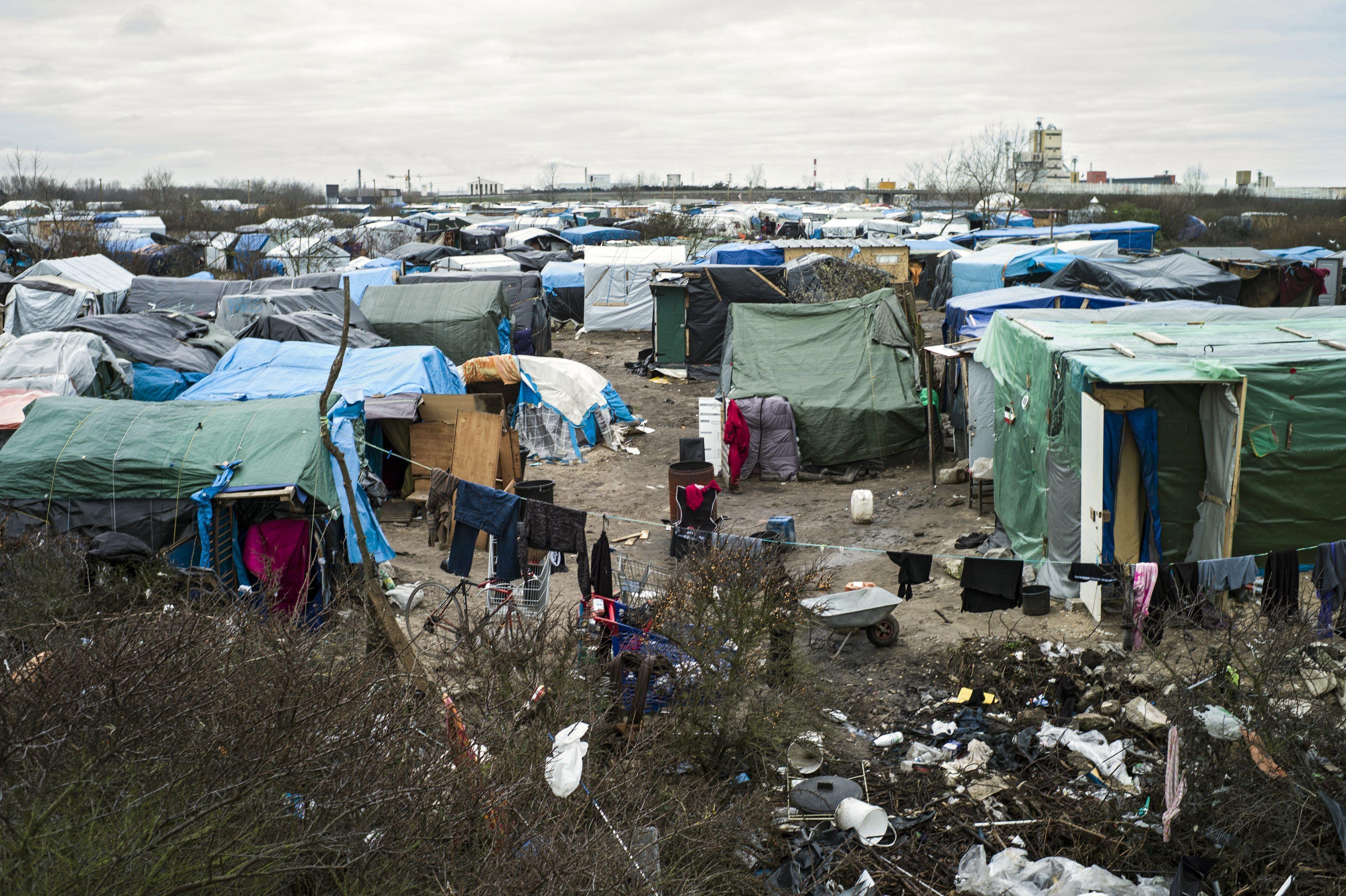 La Justicia de Francia autorizó el desalojo del campo de refugiados de Calais