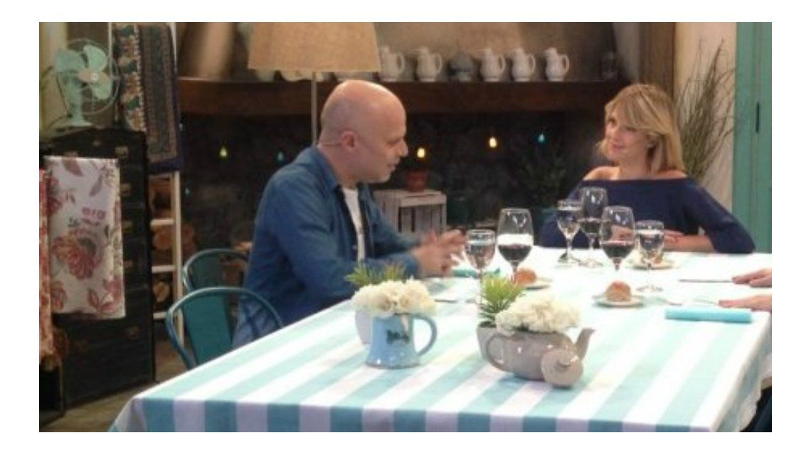 Carla Peterson y Sebastián Wainraich confesaron sus actitudes negativas con sus parejas