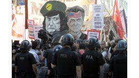 #SinProtocolo Estatales liberan un carril luego de una orden judicial