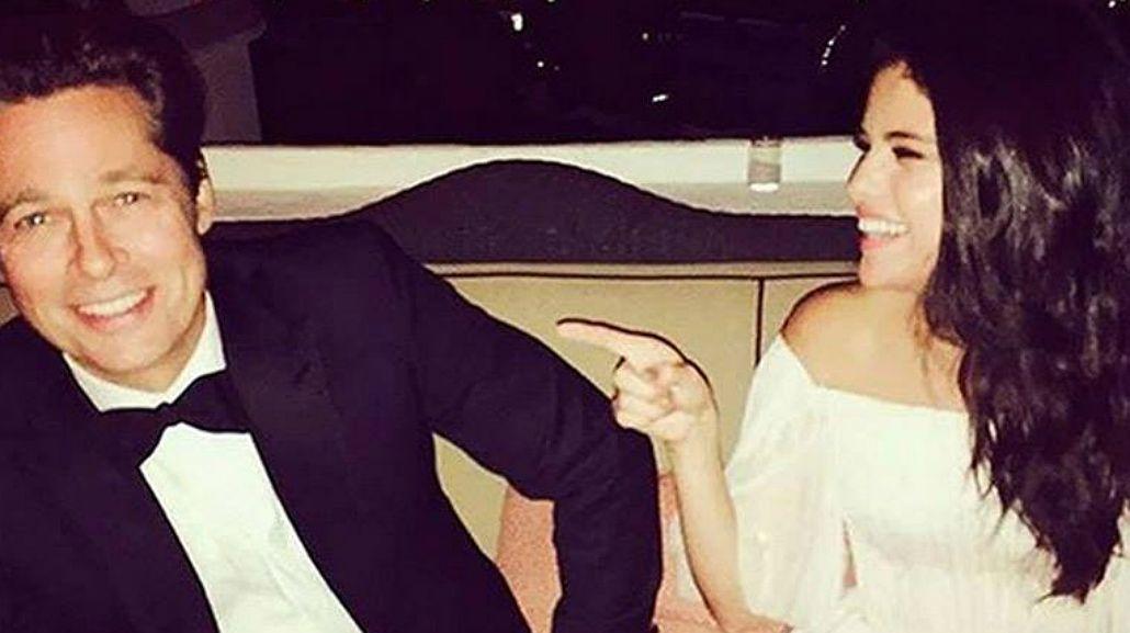 El supuesto affaire entre Brad Pitt y Selena Gomez: las fotos que los comprometen