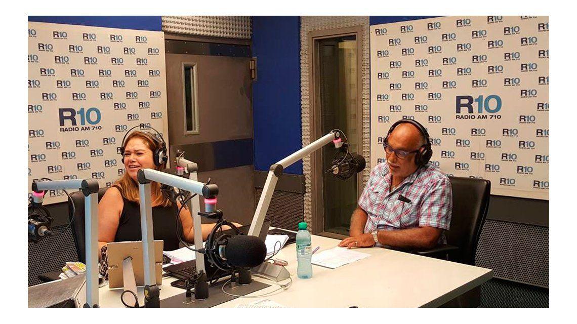 Así fue la vuelta del Negro de Oro a Radio 10: Traemos los puños llenos de verdades