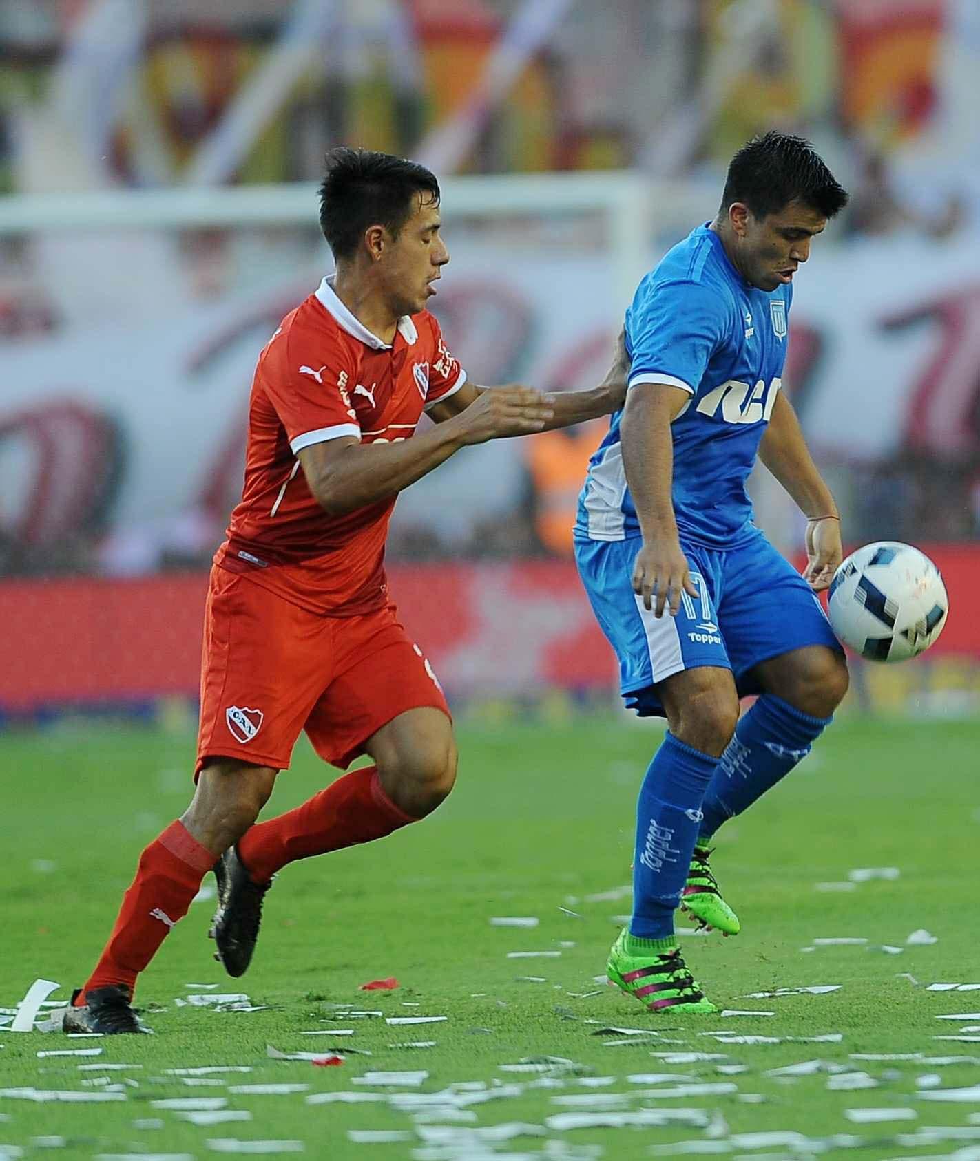 Con un golazo de Lisandro López, Racing le empató el clásico a Independiente