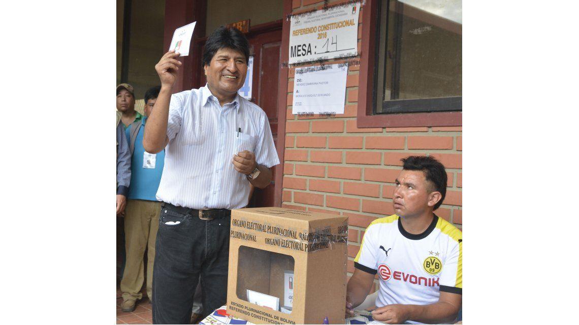 Desde el equipo de Evo Morales aseguran optimismo respecto al referéndum
