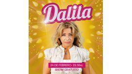 Dalila llega a Casino Buenos Aires el miércoles