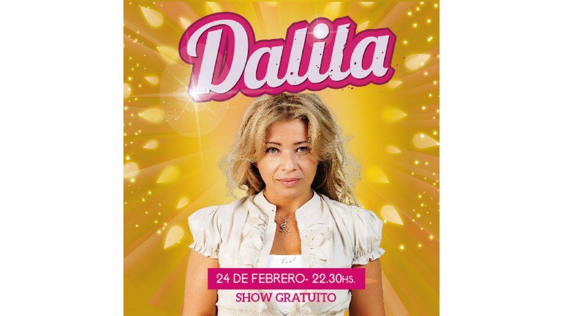 Dalila se presentará en el Casino Buenos Aires el próximo miércoles