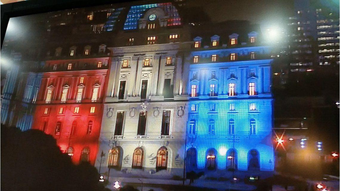 El Centro Cultural Néstor Kirchner rinde homenaje a Francia