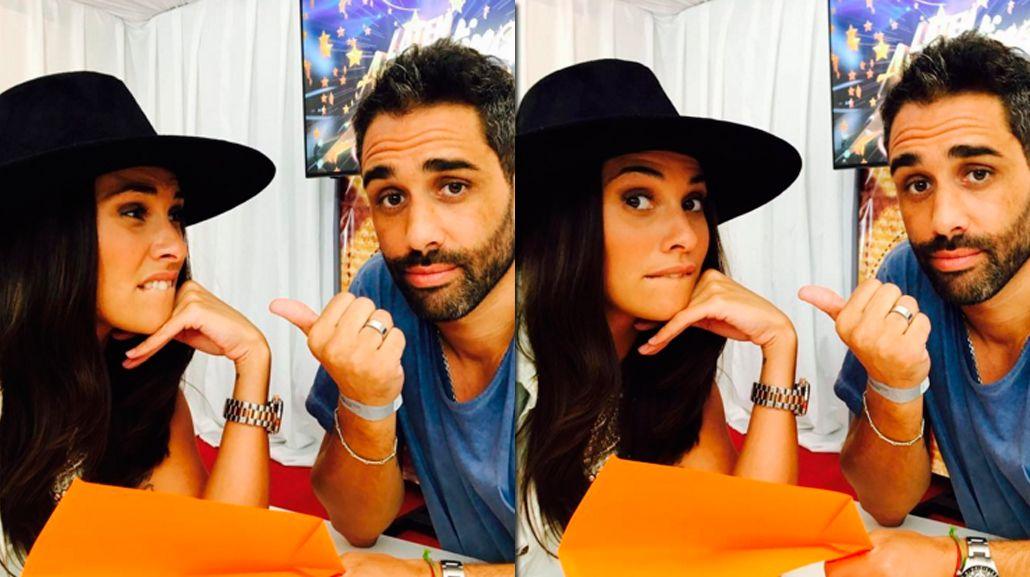 Ivana Nadal y Pollo Álvarez se reencontraron en un evento y así reaccionaron: Te cruzas a tu ex y vos tipo...