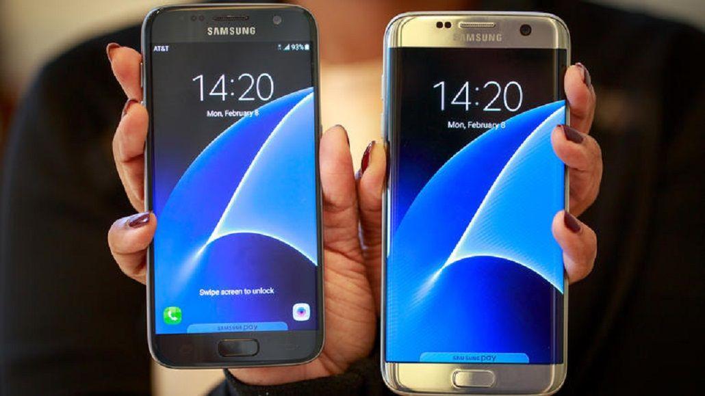 Samsung presentó el nuevo Galaxy S7