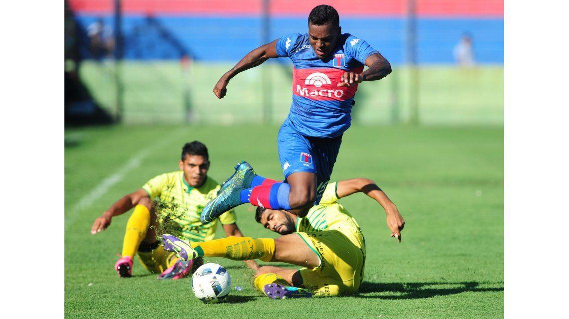 El entonado Defensa se hizo fuerte como visitante y venció a Tigre