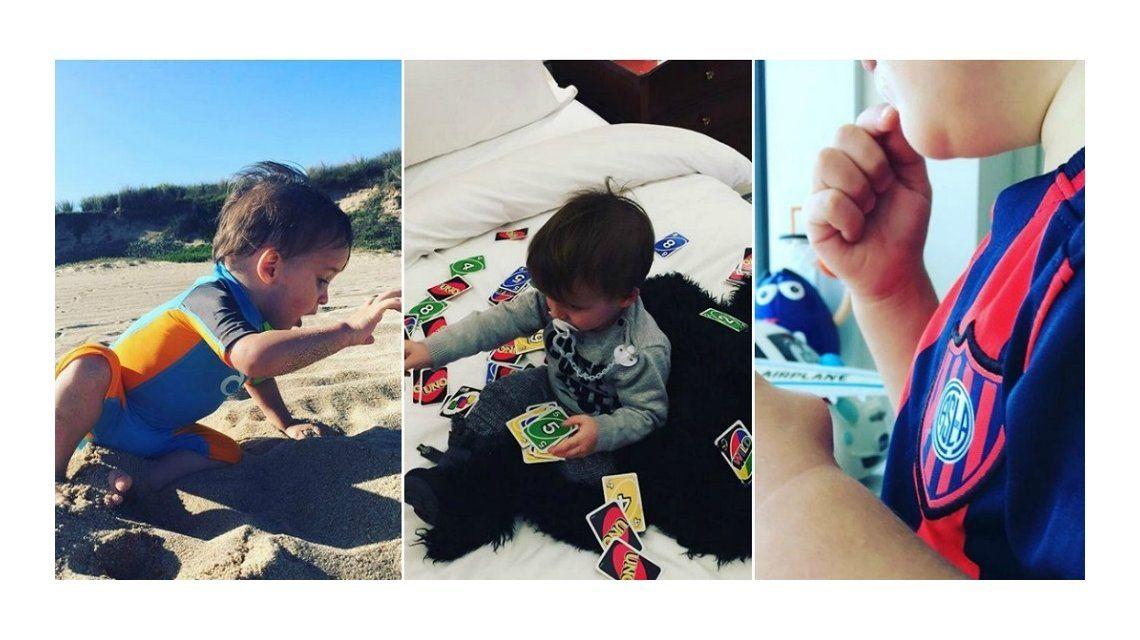 Lorenzo Tinelli llegó a Instagram con inéditas fotos