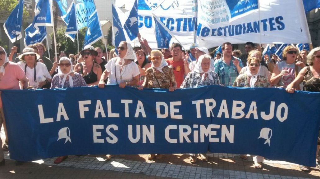 Las Madres denunciaron que la Policía no las dejó entrar a Plaza de Mayo