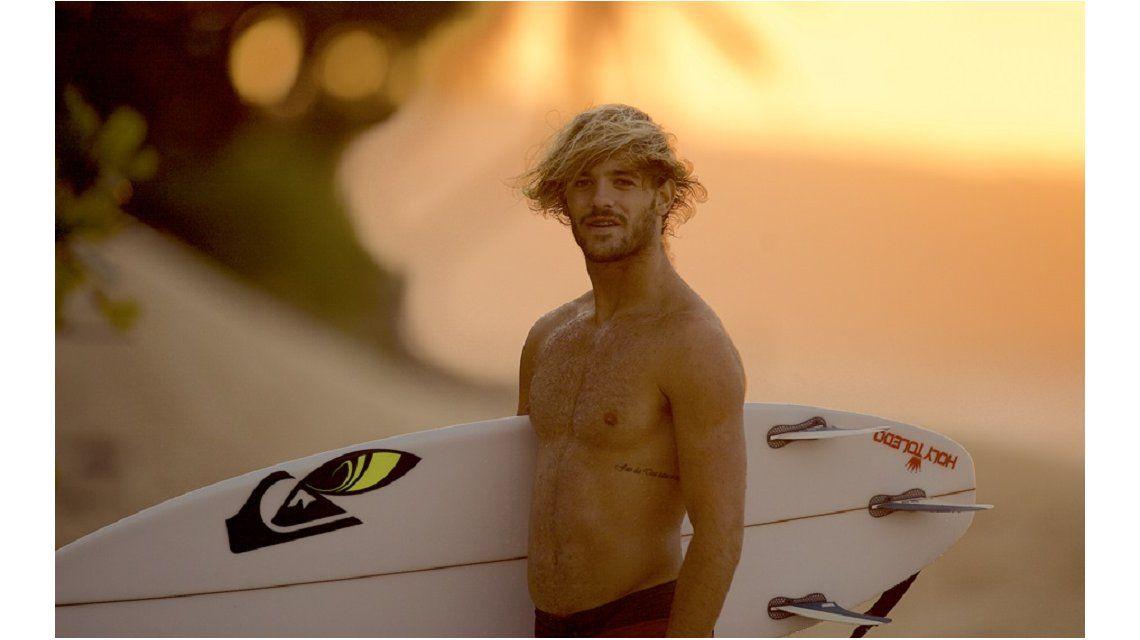 El mejor surfista argentino promete: Este 2016 será mi año