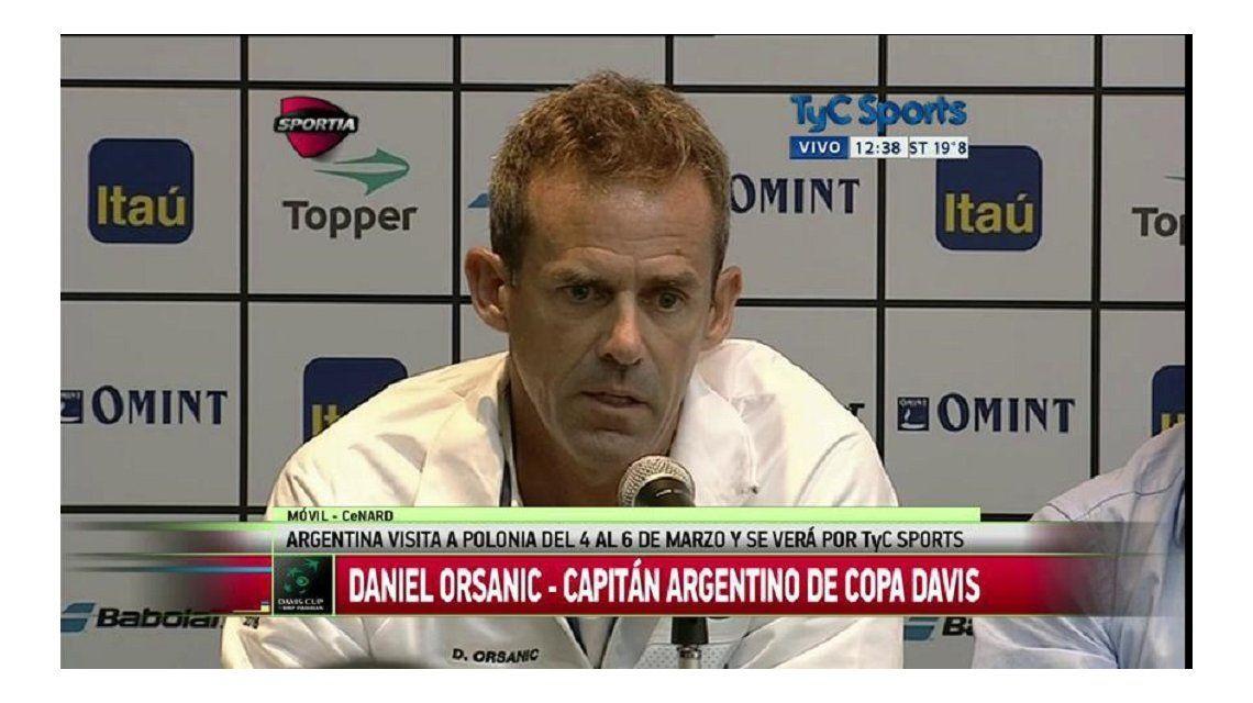 Mayer, Berlocq, Pella y Renzo Olivo, el equipo argentino de la Davis