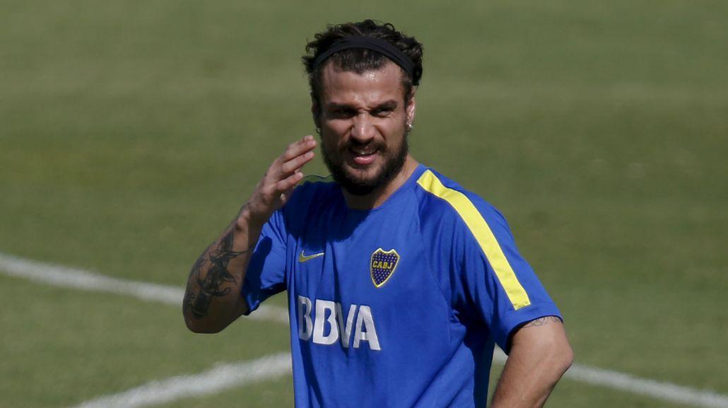 Respira Boca: Daniel Osvaldo volvió a entrenar con normalidad