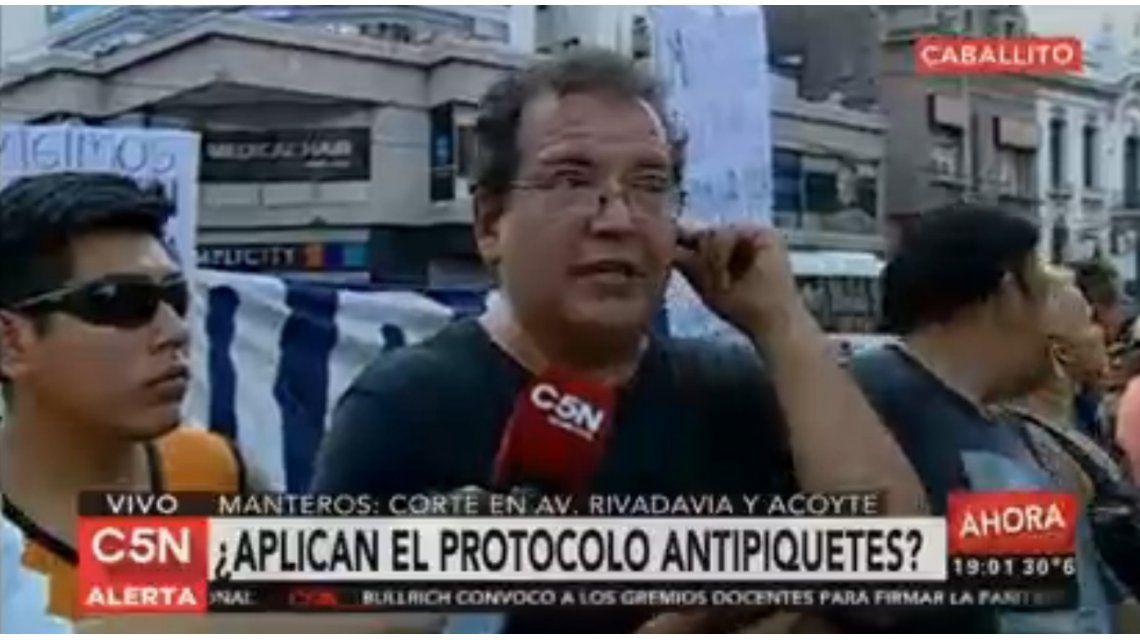 Corte en Caballito: Manteros le reclaman al Gobierno porteño volver a trabajar