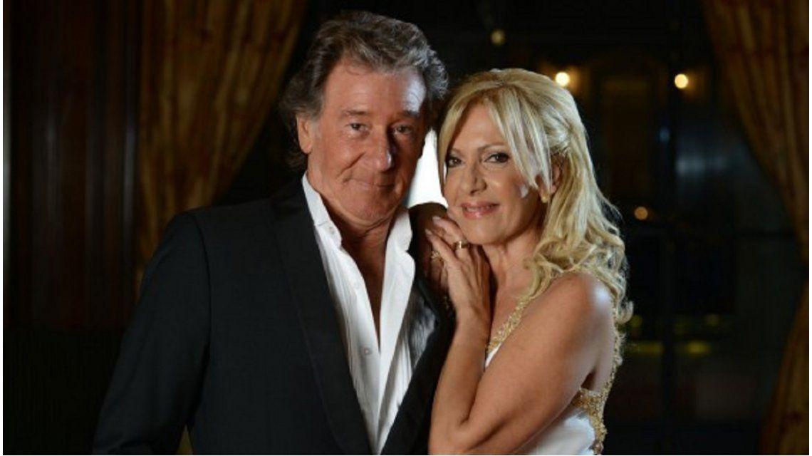 A un mes de la muerte de su marido, Susana Roccasalvo lo homenajeó en vivo