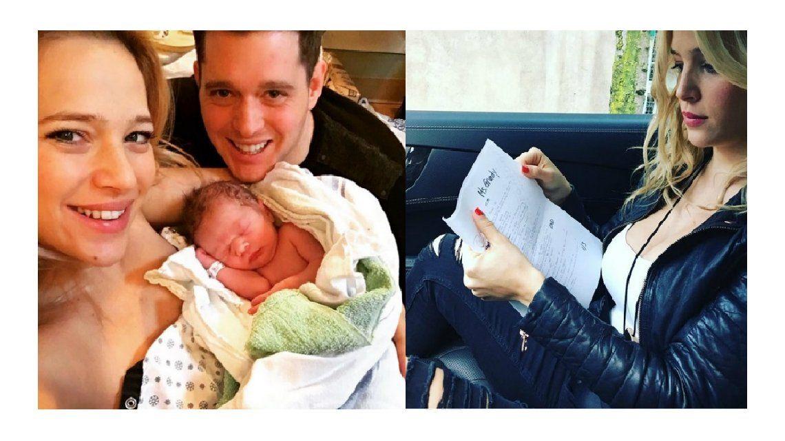 Madre todoterreno: a un mes del nacimiento de Elías, Luisana Lopilato volvió a trabajar