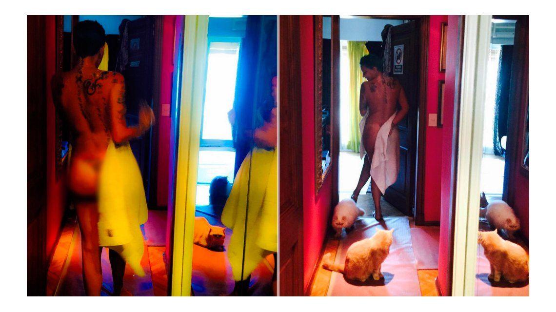 A los 51, Daniela Cardone celebra su lomazo ¡totalmente desnuda!: Estoy feliz