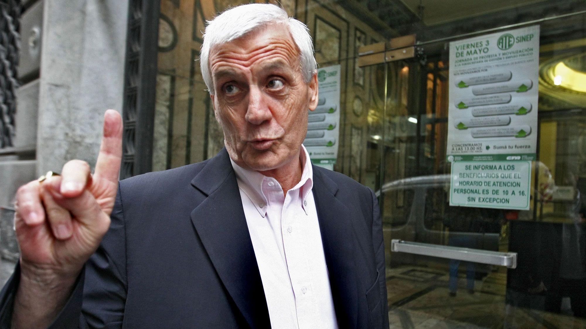Antonio Caló criticó medidas del Gobierno pero se mostró dispuesto a dialogar