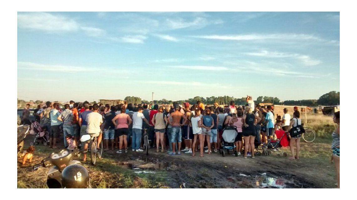 Tensión en Merlo por un desalojo de tierras ocupadas